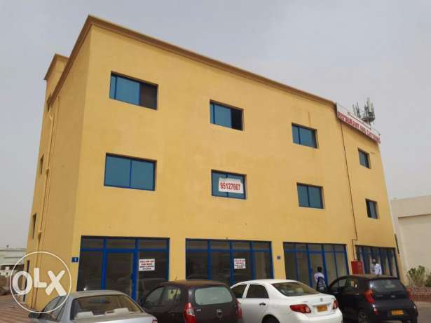 Office Spaces FOR RENT Rusayl 70/90/130SQM near Industrial Estate pp78
