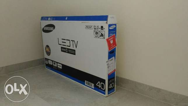 "Samsung LED 40 "" 5000 brandnew marketprice159OMR sellprice130OMr"