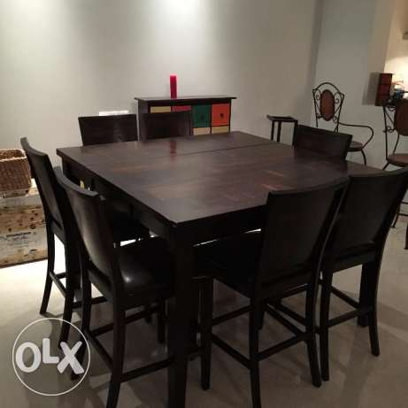 Dining Table and 7 Seats for Sale مسقط -  1