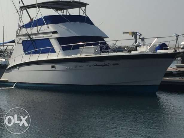 Hatteras 55 ft Sports fisherman (REDUCED IN PRICE)