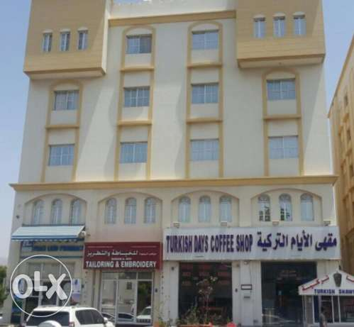Full building with 20 flats for rent near Indian School Ghobra مسقط -  1