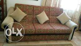 Excellent condition sofa 3+2 from khimjis furniture