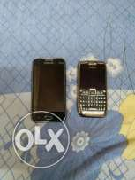 Samsung and nokia phone for sale