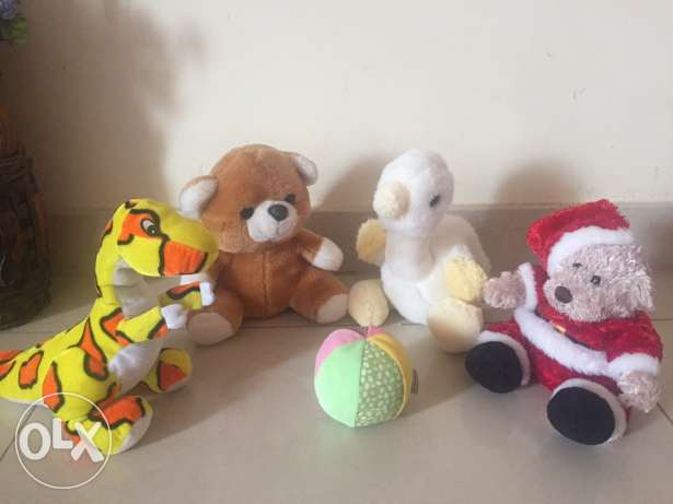 soft toys almost new