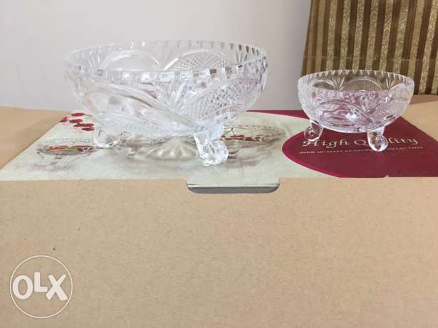 Glass ware , sparely used for sale