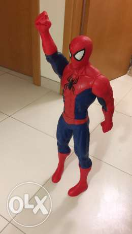 Toy model on Spider-Man