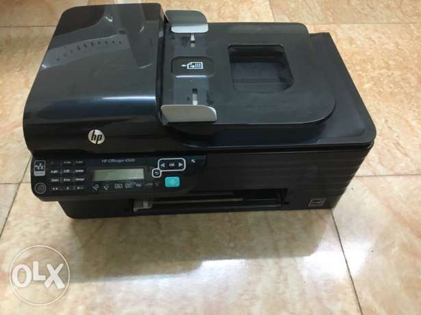Hp officejet 4500 الحمرية -  1