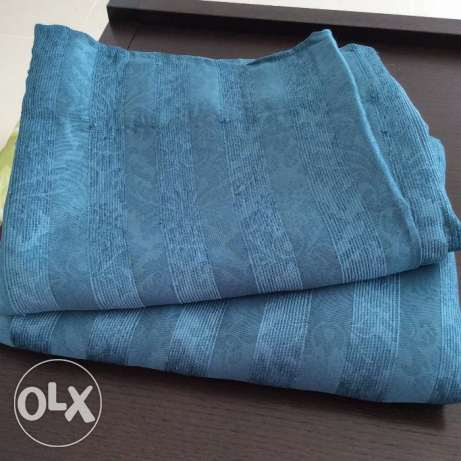 curtains, sheets, quilt, blanket... from 4or not all مسقط -  2