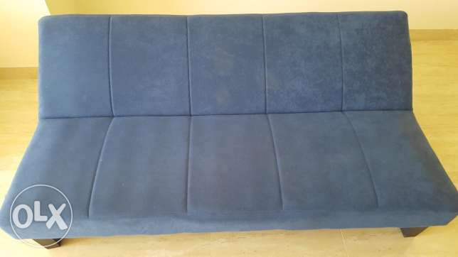 Sofa bed 3 positions like new