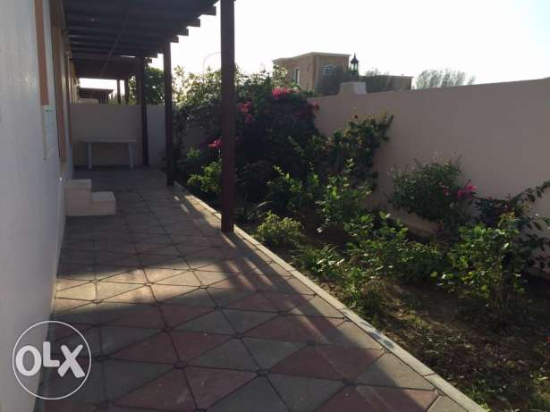 e1 Furnished villa for rent in boshar in a compound بوشر -  1