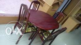 Dining table with4 chair