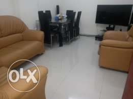 Furnished flat for rent or sharing room with kitchen