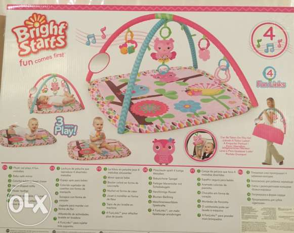 Bright Starts play mat السيب -  5