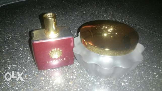 Amouage perfume for sale with body cream مسقط -  2