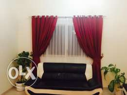 2 sets of Window Curtains