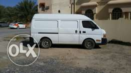Nissan high roof van 2007