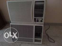 Window A/C's 1.5 ton for sale good condition