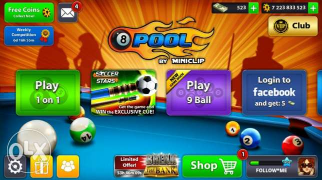 8 Ball Pool Coins Sale Special Offer