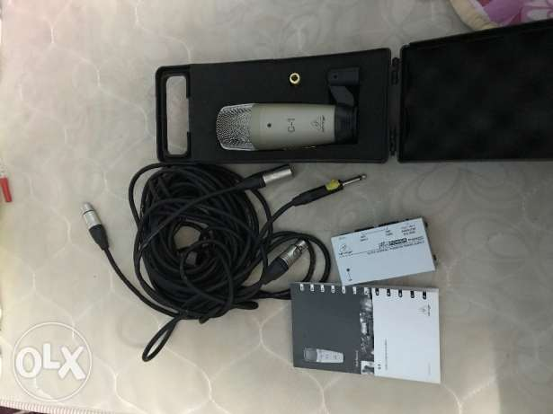 PROFESSIONAL STUDIO MIC Behringer C1 for immediate sale