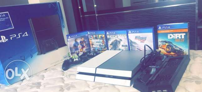 ps4 for sale with 1 year and 3 months warranty