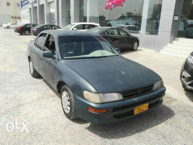 Toyota corolla 1995 running condition