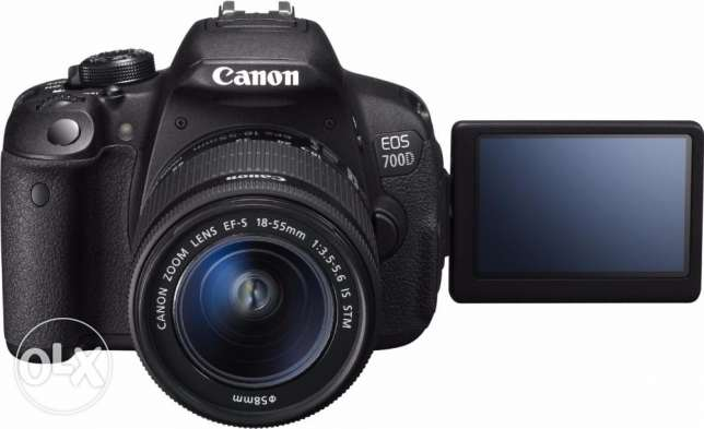 Canon 700 D EOS AND Two Lens 18-55, 75-300