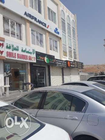 Qurum- Prime Showrooms x 4 SQ highway visible - For Rent