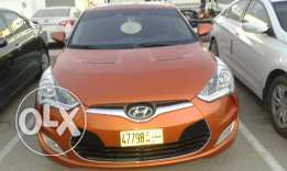 Expat driven Hyundai veloster 1.6 At 2014