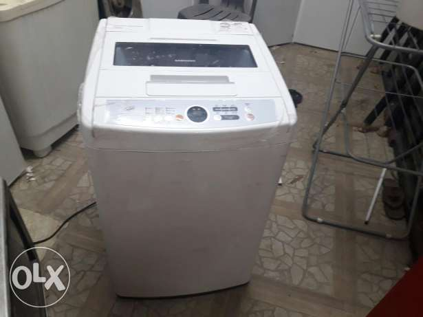 Samsung diamond drum fully automatic 2 year old..
