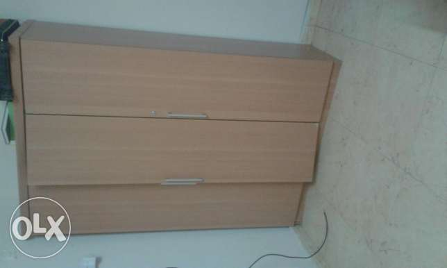 Cupboad bed mattress dressing table