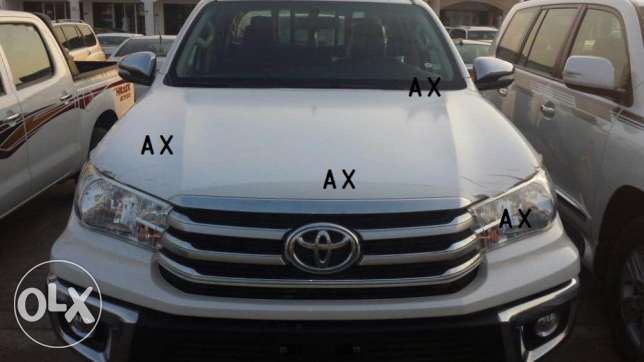 Toyota Hilux 2.7 A/T 4WD - ZERO KMS for sale ! السيب -  3