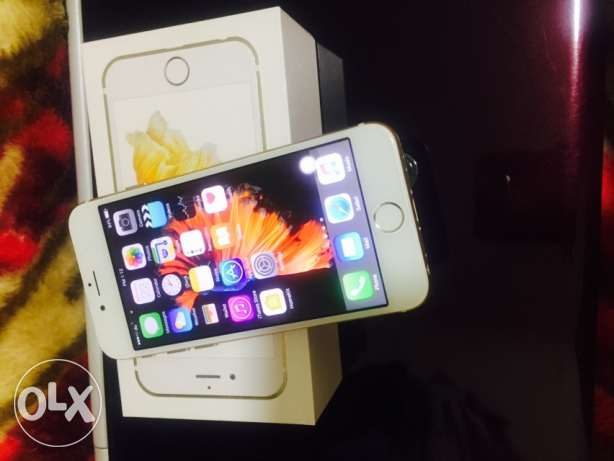 Iphone6 S 64 GB Gold color