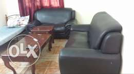 Lounge room, bathroom and kitchen furnished in Azaiba behind the Sulta