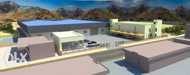 Warehouse with Office & Accommodation in Amerat Industrial Area