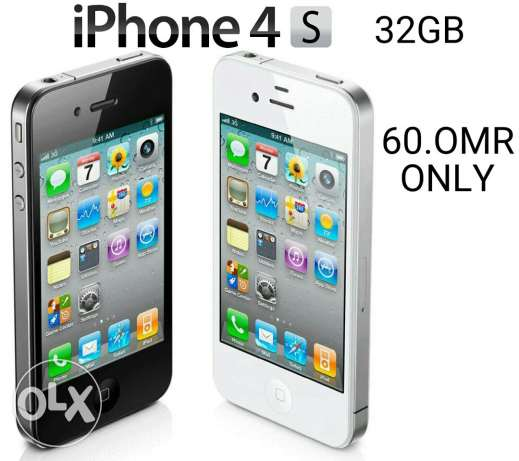 I phone 4s 32 gb available for sale. السيب -  1