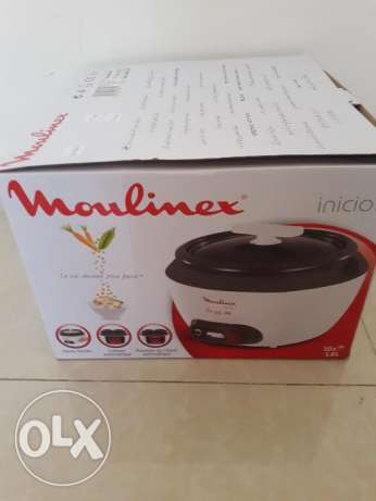 Moulinx rice cooker 1.8 L new