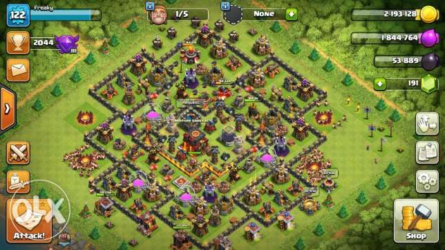 Clas of clan ...base with gogle acc