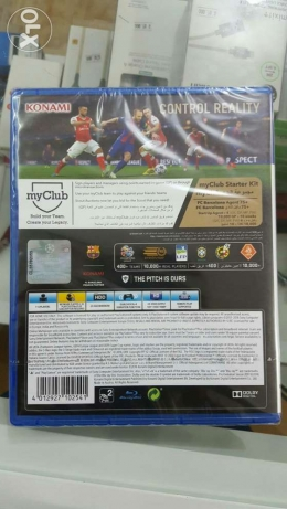 Ps4 game pes2017 صحم -  2