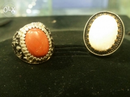 Both made in italy beautiful stone with silver 925 Italian