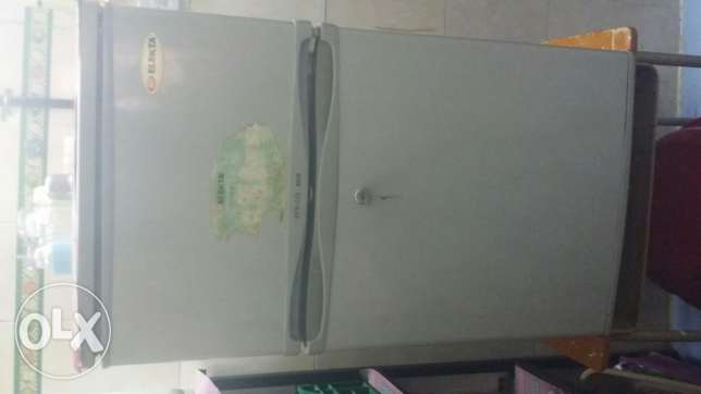 Refrigerator for sale .And 2 doors and good condition.