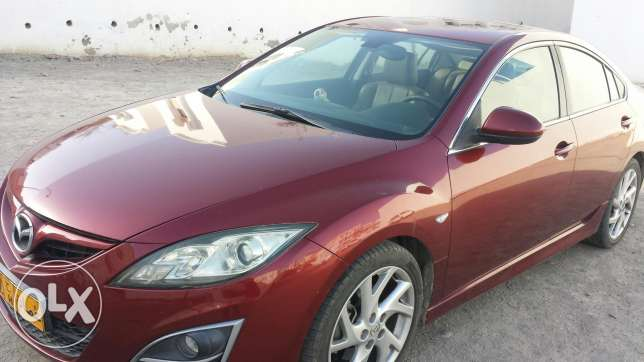 Mazda 6 maroon colour
