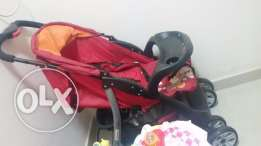 Juniors baby stroller rarely used and walker