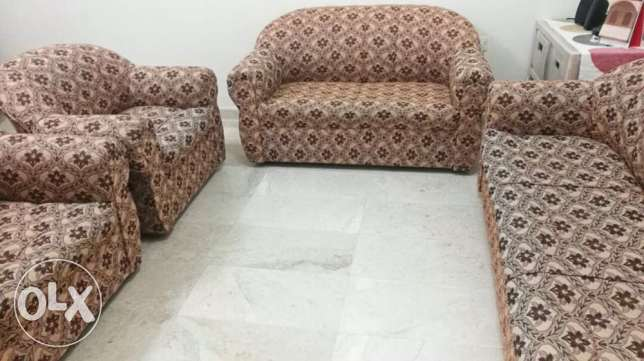 sofa/ TV/ TV table/ speakers/ center table/ bed with matress