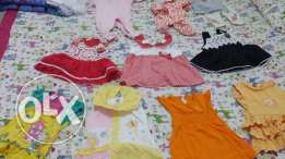 Baby girl dresses from 1 to 4 months