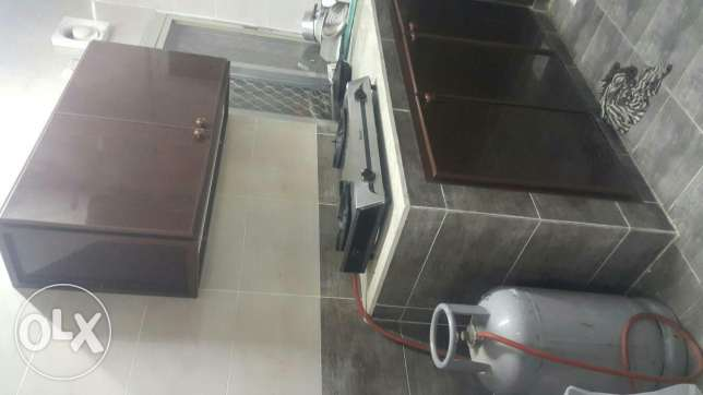 100 rial room for rent with water and electricity ruwi okcenter مسقط -  2