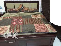 King size bed for sale in a very reasonable price