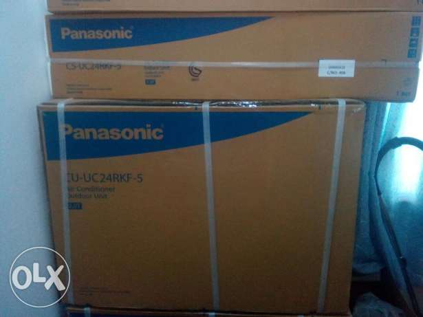 2 pcs Panasonic 2 ton A/C.New