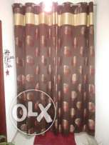 3pairs of curtains with its lining for sale