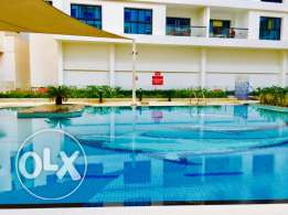 Marvelous 1bhk flat with pool,gym,kids play at azaiba only on 415riyal