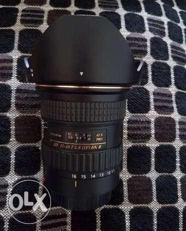 Tokina 11-16mm 2.8 for Canon